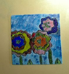 FIMO 50 World project tile from Rosaria del Pino Ylisastigui, Spain