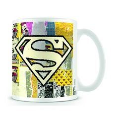 DC Comics: Boxed Mug - Distressed Superman Logo. £7.99