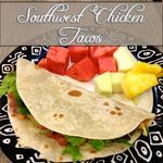 Southwest Chicken Tacos (crock pot recipe) | Sunshine in my pocket