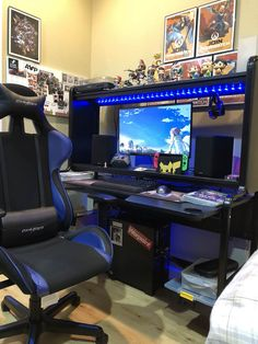 Awesome Video Game Room Ideas for Small Rooms Video game room ideas for game lovers, diy funny setup gaming desk boys organization