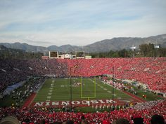 2011 Rose Bowl - Wisconsin vs. TCU - Pasadena, California.