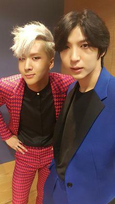 Ravi and Leo - VIXX Queee chuleria se ven estos 2 miembros(I love VIXX,Fighting!!!)