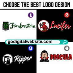 It's October Halloween Month! Choose The Best Logo Design Professional Web Design, Marketing Budget, Web Design Services, Best Logo Design, Cool Logo, Service Design, Internet Marketing, October, Good Things