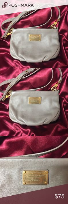 MARC BY MARC JACOBS 'Classic Q - Percy' Crossbody MARC BY MARC JACOBS 'Classic Q - Percy' Crossbody Bag in excellent condition. Bag is small but can still hold many items including a wallet. Bag was only used a few times and has no tears, rips or stains. Marc By Marc Jacobs Bags Crossbody Bags