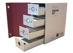 Boîte à tiroirs pour présentation d'échantillons - 2