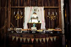 cake table- i love this