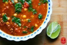 Harira - zupa marokańska Chana Masala, Healthy Cooking, Tofu, Vegan Recipes, Vegan Food, Food To Make, Salsa, Food And Drink, Curry