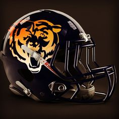 Chicago Bears alt helmet design