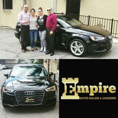 Congratulations Dear Sirineh & Siouneh on your Brand New Audi A3. Thank you for your loyalty. Enjoy your new ride. #empireauto #new #car #lease #purchase #finance #refinance #newcarlease #newcarfinance #leasingcompany #customerservice #GlenoaksBlvd #glendale #brokerage #autobrokersales #autobroker #autobrokers #wholesaler #freeoilchange #freemaintanance #2016audia3