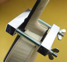 Znalezione obrazy dla zapytania homemade violin clamp