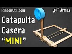 Mini catapulta casera | Armas caseras - YouTube