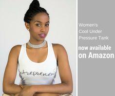 Entrepreneur store Women's Cool Under Pressure Tank Large White Under Pressure, Large White, Cool Stuff, Stuff To Buy, Fashion Brands, Entrepreneur, Tank Man, Topshop, Calm