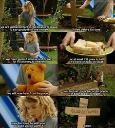 """""""May the force be with you, because you're worth it"""" I love outnumbered"""