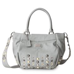 Go to www.angiesellsbags.miche.com to order your new favorite shell! Annecy (Demi)- She brings the inspiration of the French Alps and high fashion styling together to create a look that is absolutely stunning. Glacier-grey soft faux leather is accented by oversized stud and grommet detailing in various metallic colors. When the sun hits Annecy just right, she glistens like icicles atop Mont Blanc.