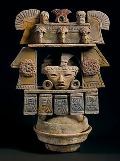 Teotihuacan, 150 - 550 A.D. Height: 42 cm; width: 33 cm ID IV Ca 46159 National Museums in Berlin, Ethnological Museum