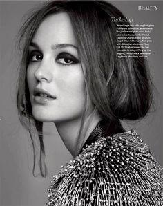 Leighton Meester #fashion #magazine
