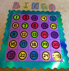 Classroom Bingo! This is a whole class reward system. When the class displays a positive behavior a number is pulled from a hat. That number is then covered up. When the class has five in a row they win an award!