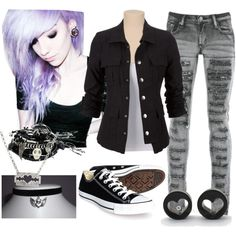 """Sweet and Gloomy"" by sleepingwithsirens-bvb on Polyvore 