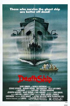 US Seller-death ship vintage horror sci-fi movie poster modern wall decor 1980's Movies, Scary Movies, Movies 2019, Comedy Movies, Classic Movie Posters, Movie Poster Art, Horror Movie Posters, Horror Films, Horror Art