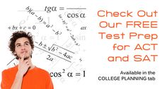 Check out our FREE Test Prep for ACT and SAT