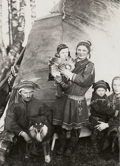sami nomads | Nomad Sami Finland 1920s | Flickr - Photo Sharing!