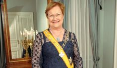 Tarja Halonen, former President of Finland and the first female to hold the office.