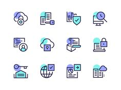 Blockchain Icons designed by Dmitri Litvinov. Connect with them on Dribbble; the global community for designers and creative professionals. Design Ios, Flat Design Icons, App Icon Design, Interface Design, User Interface, Graphic Design, Book Design Graphique, Design Thinking, Website Icons