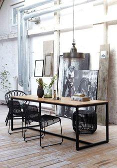 Draadstaal stoelen | Wooninspiratie