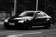 https://flic.kr/p/6pTLKB | Mercedes-Benz CLK 63 AMG Black Series | Extremely good-looking ride. The owner also owns a Porsche 997 GT2 with a similar license plate. A while ago I saw him driving this car in the afternoon and the GT2 in the morning.