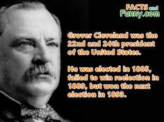 Grover Cleveland won the popular vote for three presidential elections – in and 1892 – and was one of two Democrats (with Woodrow Wilson) to be elected president during the era of Republican political domination dating from 1861 to American Presidents, Us Presidents, Grover Cleveland, June 24, Presidential Election, Politicians, Lawyer, Dating, Popular
