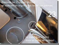 Démontage et remontage d'une machine à pâte Imperia Lunges