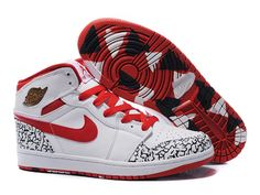 Boutique officiel Air Jordan 1 Retro High Rouge/Blanc en ligne soldes