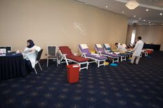 Blood Donation Drive at the Flora Creek Deluxe Hotel Apartments in Dubai.