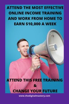 Online Income, Online Earning, Make Money Online, How To Make Money, 4 Hour Work Week, Do Everything, Free Training, Work From Home Jobs, Big Picture