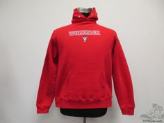 The Cotton Exchange North Carolina NC St State Wolfpack Hoody Sweatshirt sz L #TheCottonExchange #NCStateWolfpack