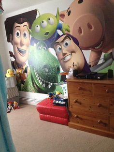 Toy Story Digital Wallpaper Mural Pinterest Wallpaper murals