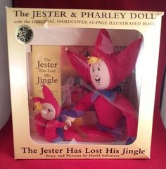 A personal favorite from my Etsy shop https://www.etsy.com/listing/497738301/vintage-the-jester-and-pharley-doll-with