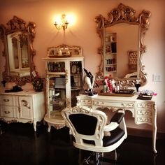 Swell Beauty Salon & Boutique in Laguna Beach - love it!  Too much for Paso Robles but gorgeous!