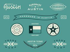 Steve Wolf Designs is an Austin-based graphic design studio. They specialize in creating meaningful and timeless design for clients and their audience. Steve Wolf, Wolf Design, Graphic Design Studios, Typography Inspiration, Business Branding, Timeless Design, Brand Identity, Handmade, Badges