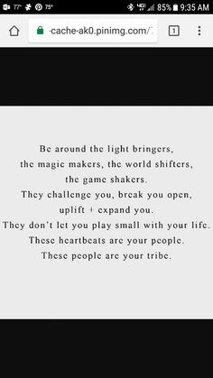 Surround yourself with people who shine, not those who siphon the life out of everything they come in contact with!