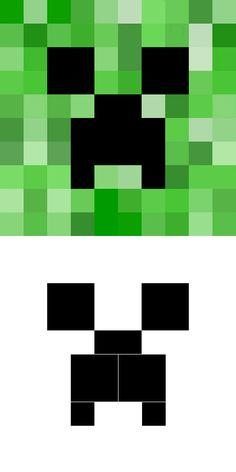 Minecraft - Mine Crafts — Wayne Wonder Children's Parties in Buckinghamshire, Berkshire, Hertfordshire, Oxfordshire creeper Minecraft Torte, Minecraft Room, Hama Beads Minecraft, Minecraft Crafts, Minecraft Houses, Perler Beads, Fuse Beads, Minecraft Furniture, Minecraft Skins