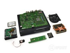 Xbox One includes a processor with 8 Colors AMD integrated GPU running at 1.75 GHz, 8GB of DDR3 RAM. Storage includes a 500GB 8gb more flash memory. The optical drive is Blu-ray.  Can be connected to wireless 802.11n or wired network.  The maximum screen resolution is 4K.  Has also included a new version of the Kinect motion sensor.  http://www.ifixit.com/Teardown/Xbox+One+Teardown/19718