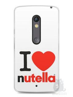 Capa Capinha Moto X Play I Love Nutella - SmartCases - Acessórios para celulares e tablets :)