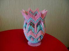 3D Origami - Origami Vase