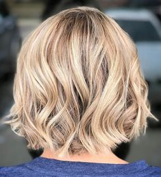 Cute Bob with Curled Ends