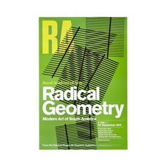 Brighten up your home with this poster from the RA's acclaimed 2015 architecture exhibition, Radical Geometry. Exhibition Poster, Museum Exhibition, Poster Prints, Framed Prints, Posters, Museum Poster, Vintage Cafe, Royal Academy Of Arts, Presentation Design