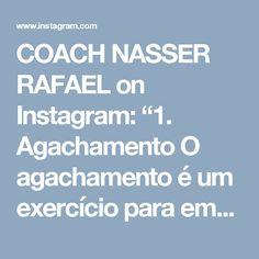"""COACH NASSER RAFAEL on Instagram: """"1. Agachamento O agachamento é um exercício para empinar o bumbum, mas também fortalece os músculos das coxas e quadris. É um grande aliado…"""""""