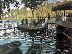 Claude Monet (1840 - 1926) La Grenouillére, 1869 Olio su tela, cm 74,6 x 99,7 New York, Metropolitan Museum of Art