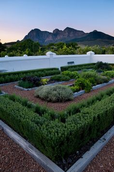 Walled kitchen garden (Babylonstoren, South Africa)