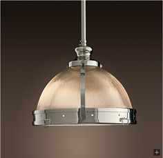Restoration Hardware Look-Alikes: Restoration Clemson Prismatic Pendant 359.00 vs 158.00 @ Overstock